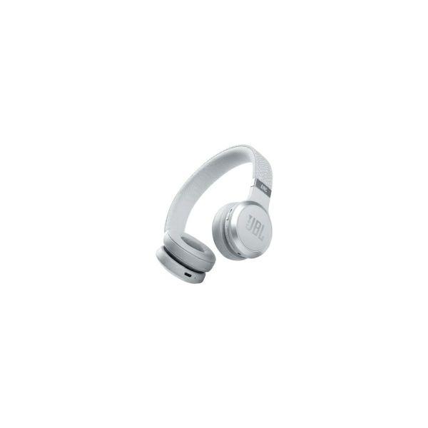 JBL LIVE 460NC BT5.0 naglavne bežične slušalice s mikrofonom, eliminacija buke, bijele