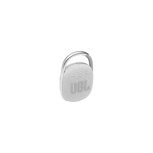 JBL Clip 4 prijenosni zvučnik BT5.1, vodootporan IP67, bijeli