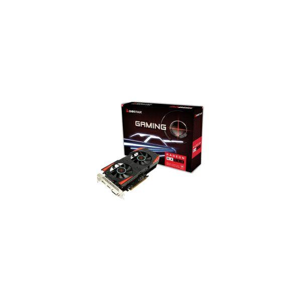 Biostar AMD Radeon RX560 OC 4GB GDDR5/128-bit, PCIe 3.0, DVI/HDMI/DP (VA5615RF41)