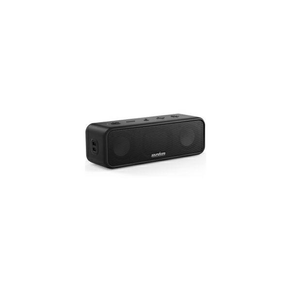 Anker Soundcore 3 prijenosni BT5.0 zvučnik, 16W, IPX7, 24 sata autonomije, crni