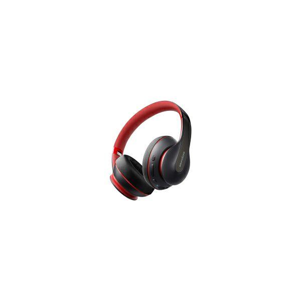 Anker Soundcore Life Q10 naglavne (Over the Ear) bežične BT5.0 slušalice s mikorofonom, Aux-in, Hi-Res certified, 60 sati autonomije, crno/crvene
