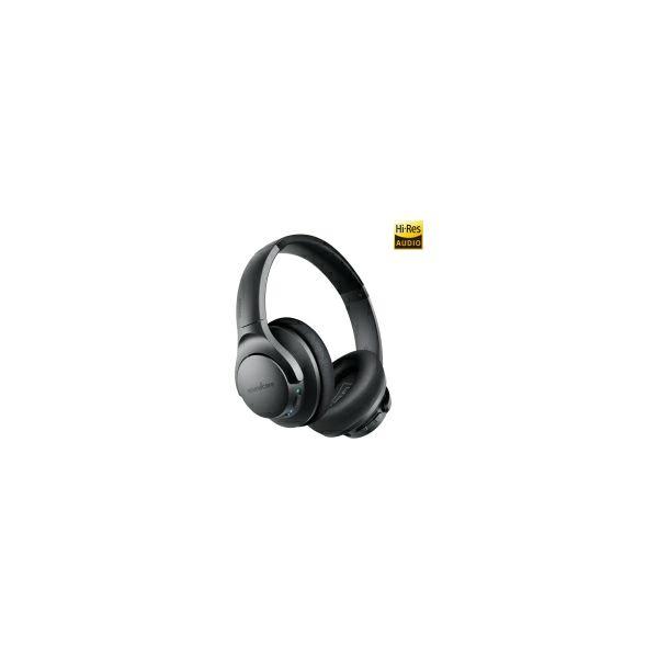 Anker Soundcore Life Q20 naglavne (Over the Ear) bežične BT5.0 slušalice s mikorofonom, aktivno poništavanje buke, Aux-in, Hi-Res certified, 40 sati autonomije, putna torbica, crne