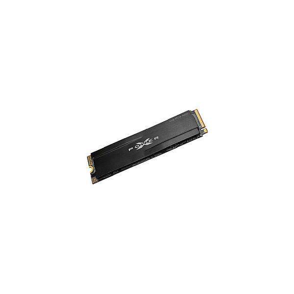 Silicon Power XD80 512GB M.2 2280 PCIe Gen3x4 & NVMe 1.3, Heatsink, SLC & DRAM Cache, R/W: 3400/3000MB/s