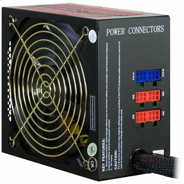 Napajanje INTER-TECH Power Supply Energon EPS-650CM, 650W, Modular, 135mm fan