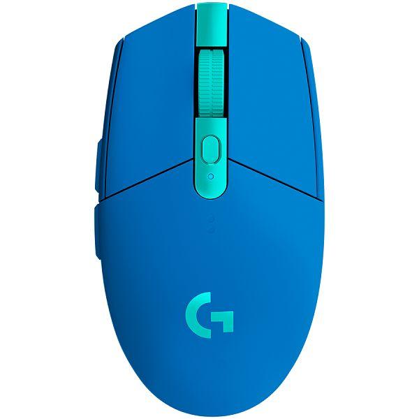 LOGITECH G305 LIGHTSPEED Wireless Gaming Mouse - BLUE - 2.4GHZ/BT - EER2 - G305
