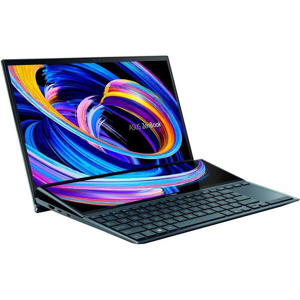 Prijenosno računalo ASUS ZenBook Duo UX482EA-EVO-WB713R / Core i7 1165G7, 16GB, 1000GB SSD, HD Graphics, 14