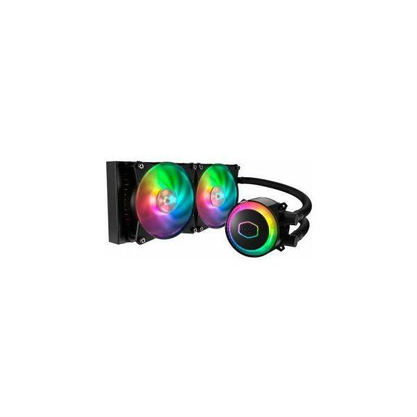 Vodeno hlađenje COOLERMASTER MasterLiquid ML240R RGB, socket 2066/2011-v3/2011/1151/1150/1155/1156/1366/775/AM4/AM3+/AM3/AM2+/AM2/FM2+/FM2/FM1