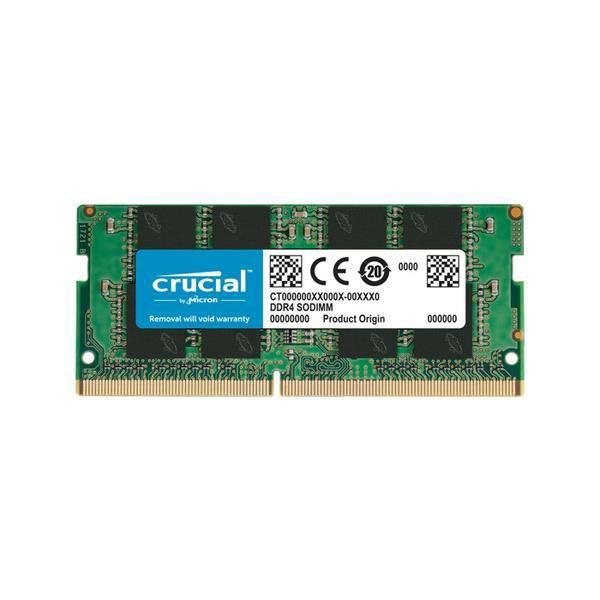Memorija SO-DIMM PC-25600, 8 GB, CRUCIAL CT8G4SFRA32A, DDR4 3200MHz
