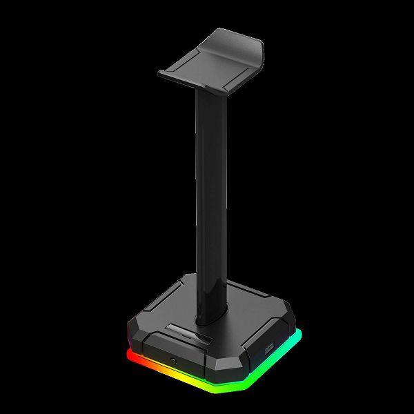 Stalak za slušalice REDRAGON Scepter Pro HA300, RGB, USB hub