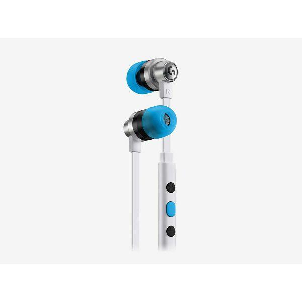 Slušalice LOGITECH Gaming G333 League of Legends Edition  K/DA, in-ear, adapter USB-C, bijele