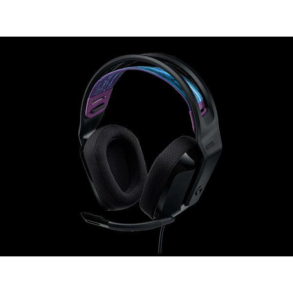 Slušalice LOGITECH Gaming G335, crne
