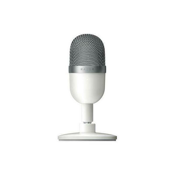 Mikrofon RAZER Seiren Mini Mercury, stolni, bijeli