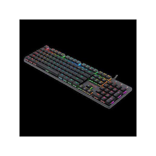 Tipkovnica REDRAGON Shrapnel K589, RGB, mehanička, USB, US layout, crna