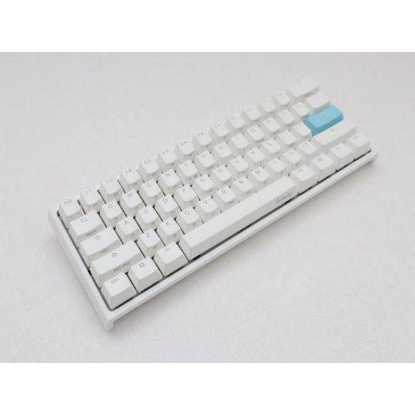 Tipkovnica DUCKY ONE 2 Mini, RGB, MX Blue, mehanička, US Layout, bijela, USB