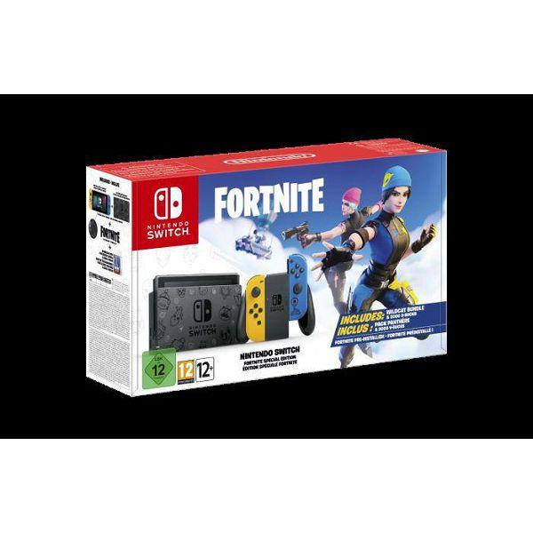 Igraća konzola NINTENDO Switch, Yellow & Blue Joy-Con, Fortnite Special Edition