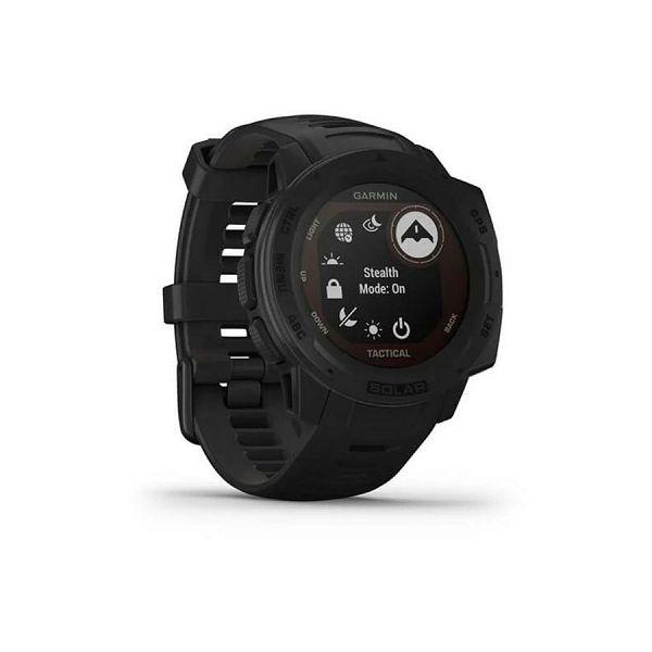Sportski sat GARMIN Instinct SOLAR, GPS, HR, pametne obavijesti, Tactical Black