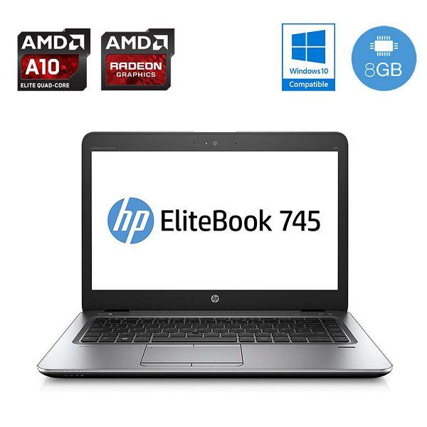 HP EliteBook 745 G3 - SSD, AMD Radeon grafika