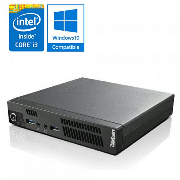 Lenovo ThinkCentre M72e Tiny - Core i3