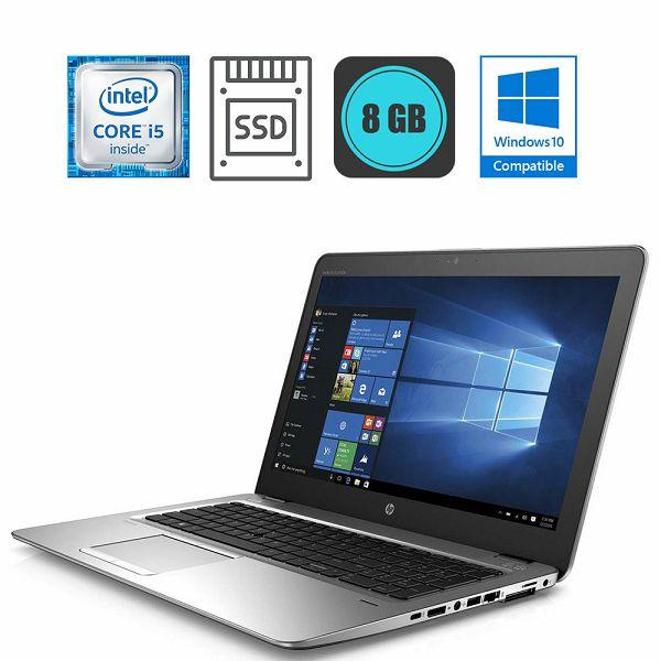 HP EliteBook 850 G4, Intel Core i5-7300U 3.50GHz, 8GB DDR4, 256GB SSD, Win10Pro