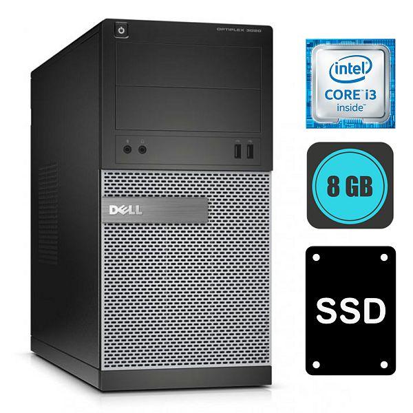Dell Optiplex 3020, i3-4130, 8GB DDR3, 120GB SSD