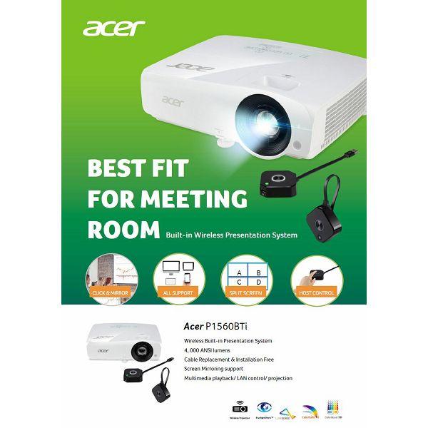 Acer projektor P1560BTi -1080p WiFi