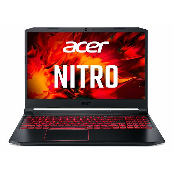 "Laptop ACER Nitro 5 NH.Q7JEX.008 / Core i5 10300H, 16GB, 512GB SSD, Nvidia GeForce GTX 1650Ti 4GB, 15.6"" IPS FHD, FreeDOS, crno"