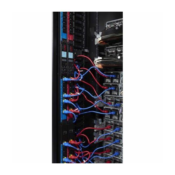 APC Power Cord Kit (6 ea), Locking, C13 to C14, 1.2m, Red