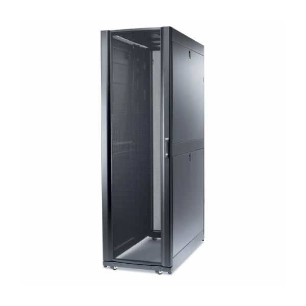 APC NetShelter SX 52U 600mm Wide x 1200mm Deep Enclosure with Sides Black