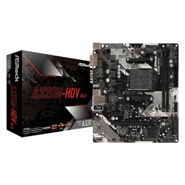 Matična ploča Asrock AMD AM4 Socket A320M chipset (mATX) MB