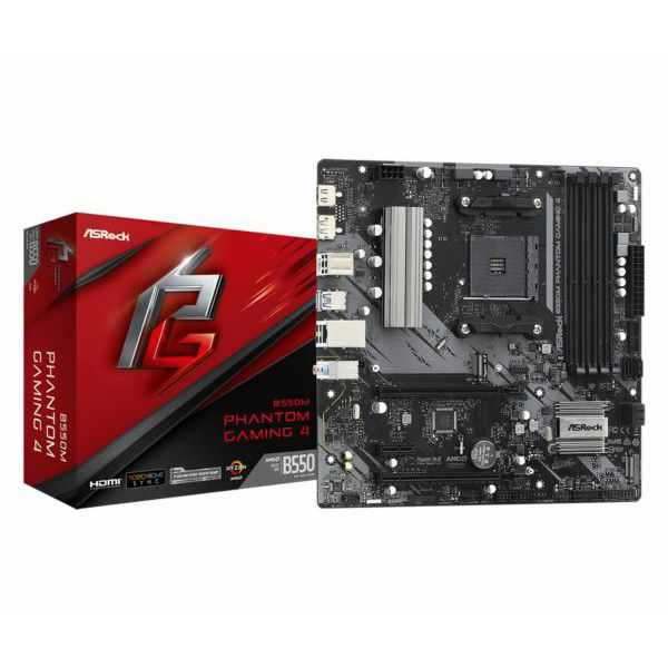Asrock AMD AM4 B550M PHANTOM GAMING 4