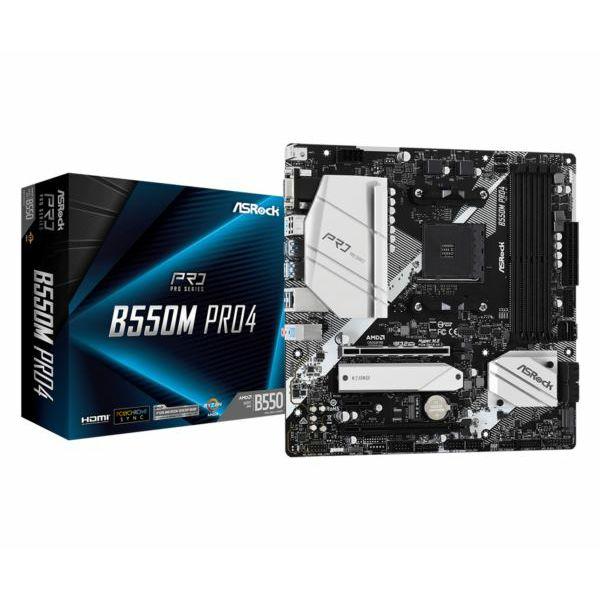Asrock AMD AM4 B550M PRO4