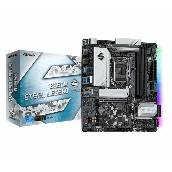 Asrock Intel LGA1200 B560M STEEL LEGEND