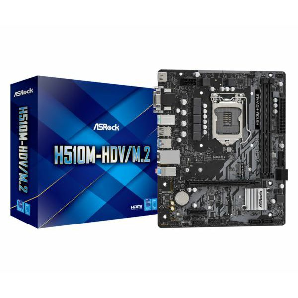 Asrock Intel LGA1200 H510M-HDV M.2