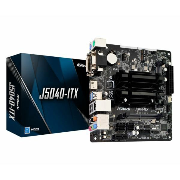 Asrock Intel J5040-ITX onboard (mITX) MB