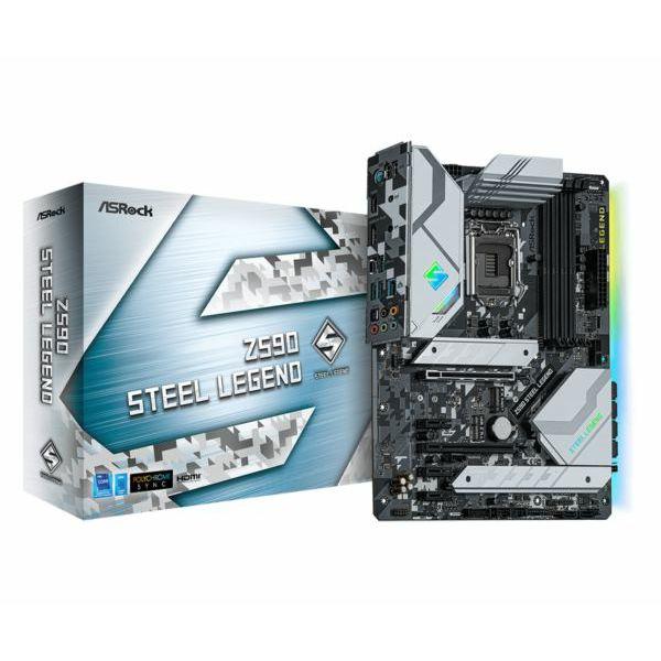 Asrock Intel LGA1200 Z590 STEEL LEGEND