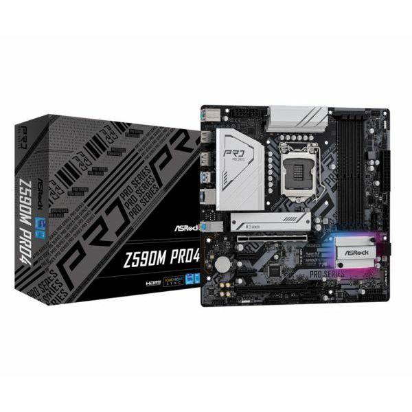 Matična ploča Asrock Intel LGA1200 Z590M PRO4