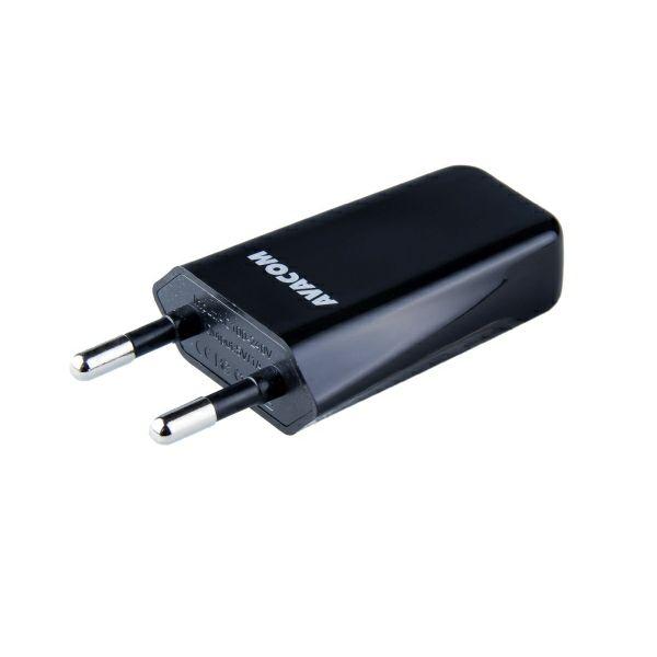 Avacom HomeMAX, USB punjač, 1A, crni