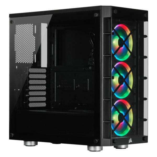 Kučište Corsair iCUE 465X RGB Mid-Tower ATX Smart Case