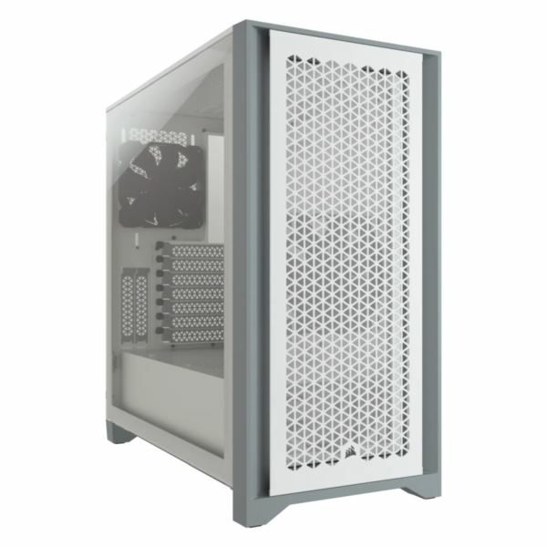 Kučište Corsair 4000D AIRFLOW Tempered Glass Mid-Tower ATX Case White