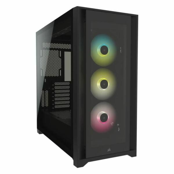 Kučište Corsair iCUE 5000X RGB Tempered Glass Mid-Tower ATX PC Smart Case