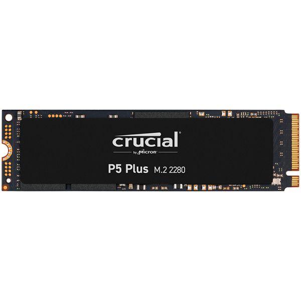 Crucial SSD 1TB P5 Plus M.2 NVMe, R/W: 6600/5000 MB/s, M.2 80mm PCIe Gen4 Micron 3D NAND, EAN: 649528906663