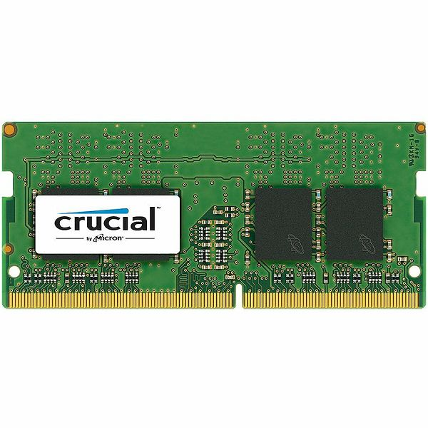 Memorija Crucial DRAM 16GB DDR4 2666 MT/s (PC4-21300) CL19 DR x8 Unbuffered SODIMM 260pin, EAN: 649528780140