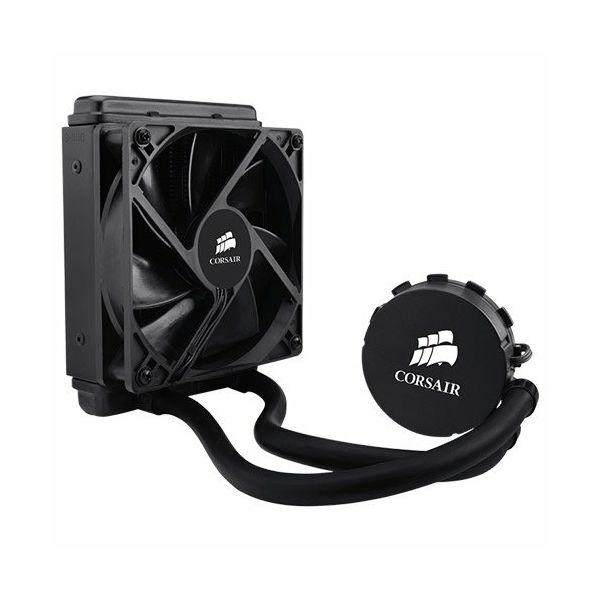 Vodeno hlađenje Corsair Hydro Series H55, Intel™ LGA 1150, 1155, 1156, 1366, and 2011 + AMD sockets AM2, AM3 and FM1, 120mm fan + 120x152mm radiator