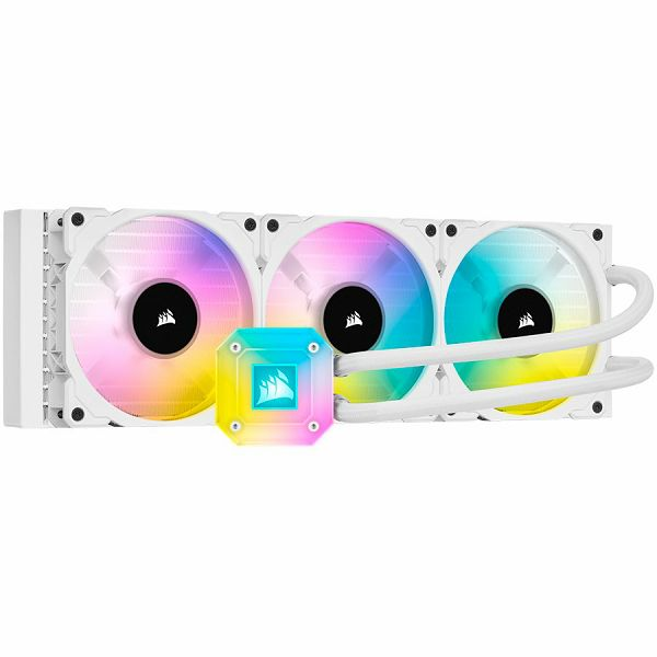 Corsair water cooling H150i Elite Capellix white