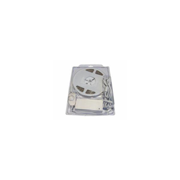 EcoVision LED fleksibilna traka 5m IP67, 2700K - Topla bijela, Komplet, 12V DC