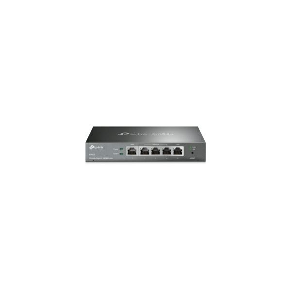 TP-Link SafeStream Gigabit širokopojasni VPN usmjerivač (Router), 1×G-WAN/1×G-LAN + 3×G-WAN/LAN