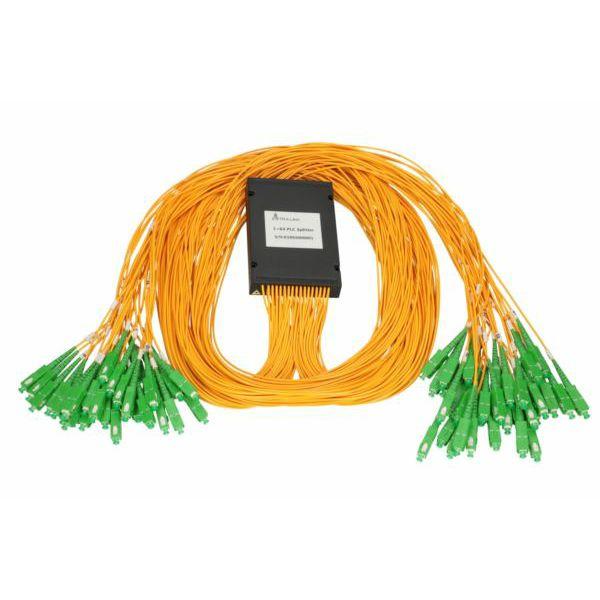 Extralink 1:64 PLC SC APC | Splitter | 2,0mm, 1,5m, G657A, ABS module