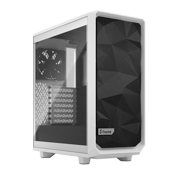 Kućište Fractal Meshify 2 Compact White TG Clear, bez nap.