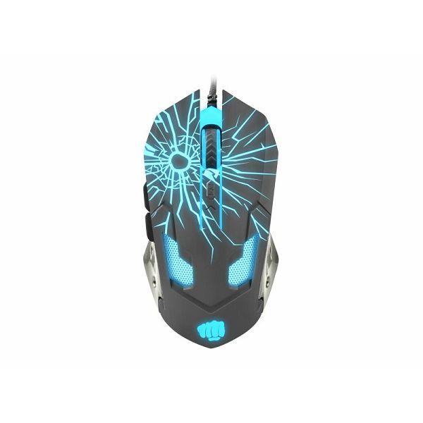 Fury Gladiator, 3200dpi, gaming miš, USB
