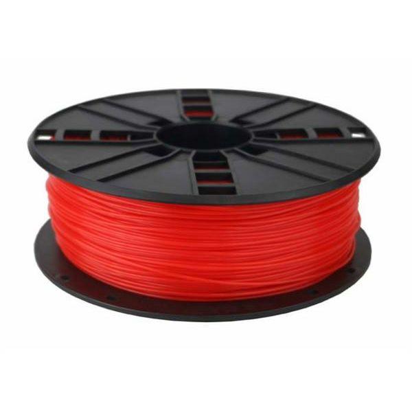 Gembird 3DP-PLA1.75-01-FR PLA Fluorescent Red, 1.75 mm, 1 kg
